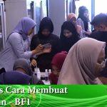 Kelas Cara Membuat Sabun – BF1 Kelas Percuma Cara Membuat Sabun