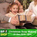 Making Christmas Soap Bar – BF1 Free Christmas Soap Making Class